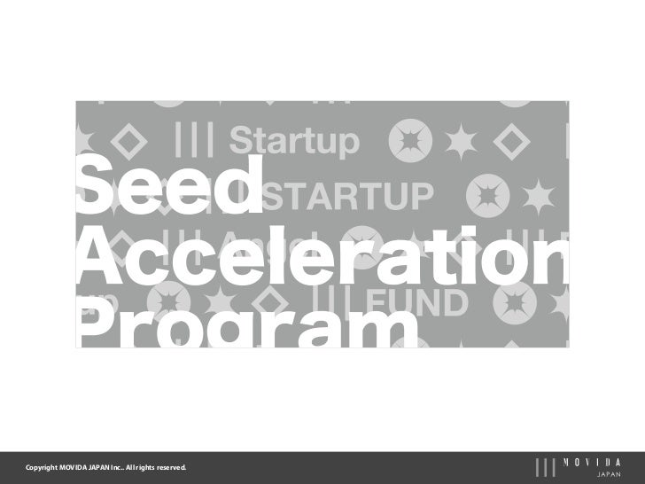 Seed Acceleration Program_Movida Japan Inc.