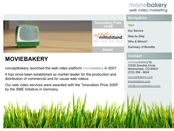 Moviebakery Introduction