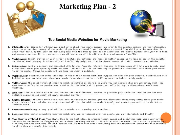 Feature film business plan
