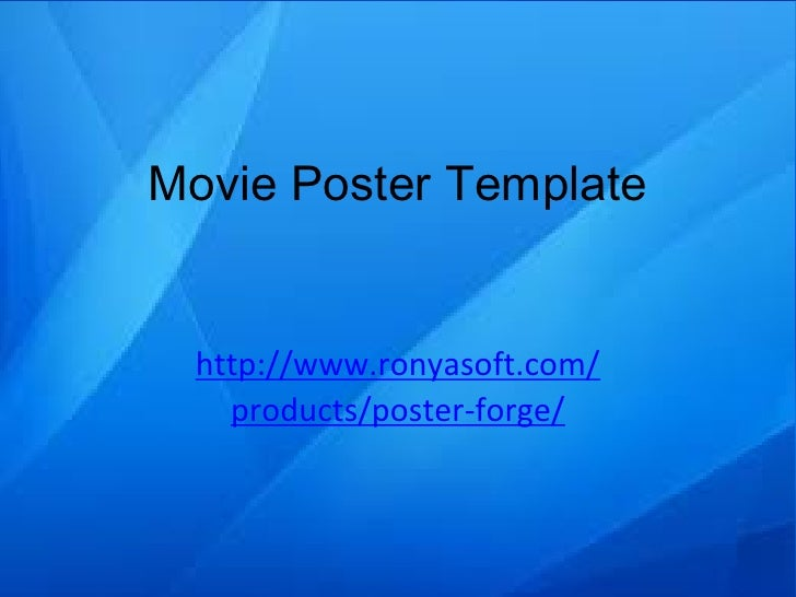 Poster template pptx