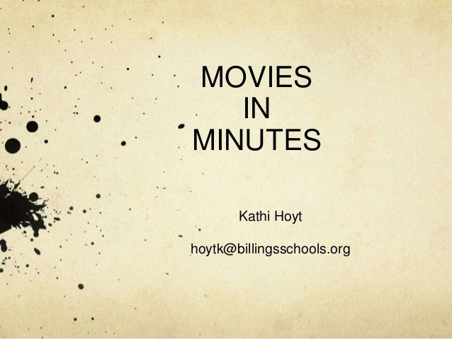 Movies in Minutes