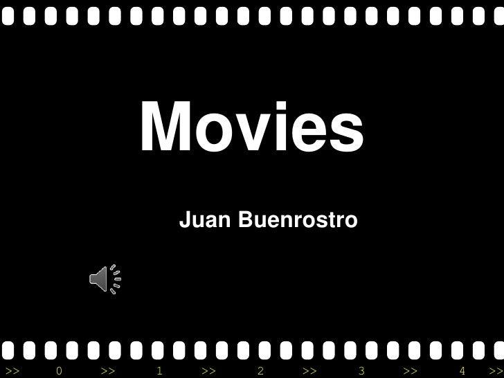 Movies powerpoint presentation