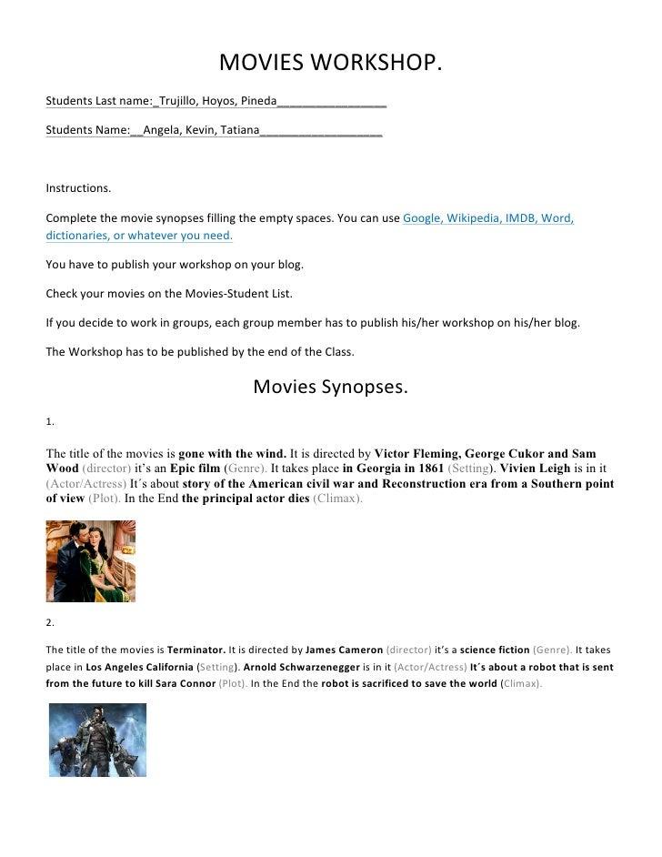 Movies workshop wed sep  28 2011 2