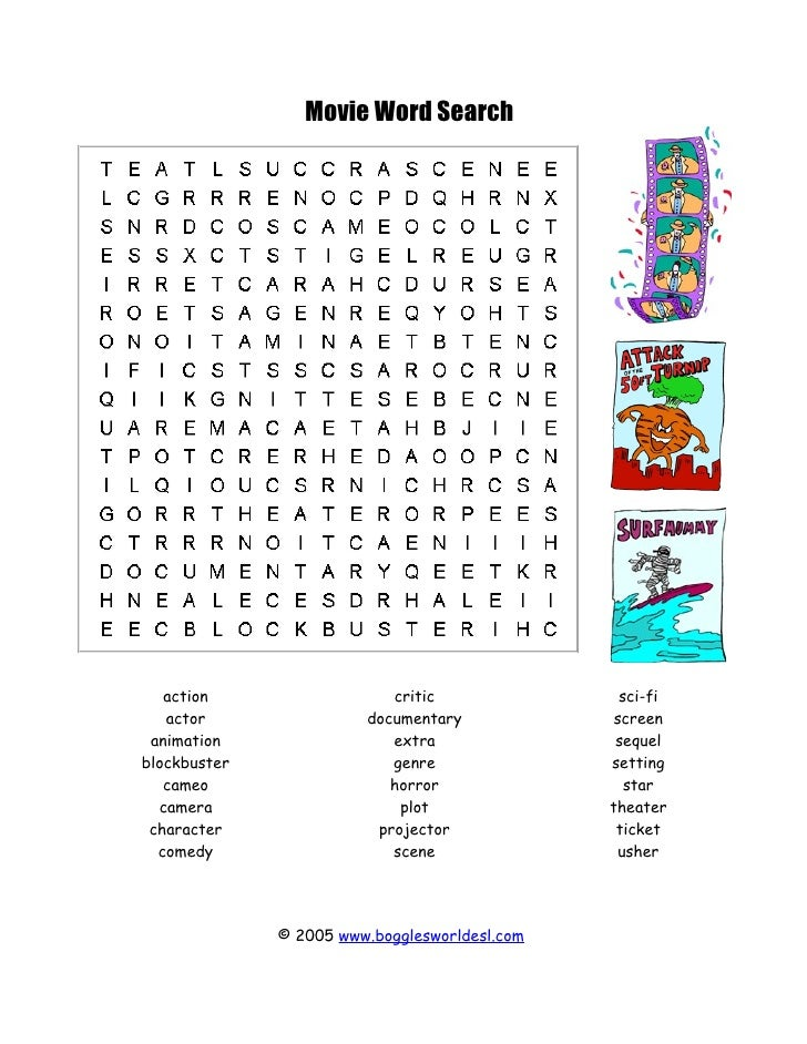 Theater worksheets