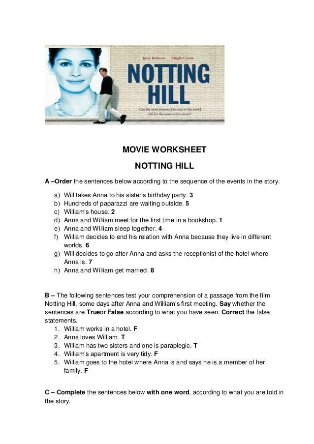 Movie notting hill