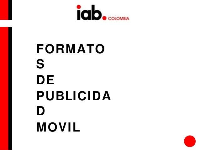 FORMATO S DE PUBLICIDA D MOVIL
