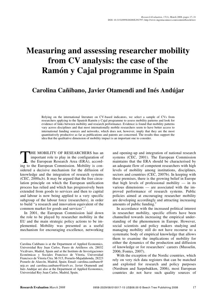 Research Evaluation, 17(1), March 2008, pages 17–31                                                                    DOI...