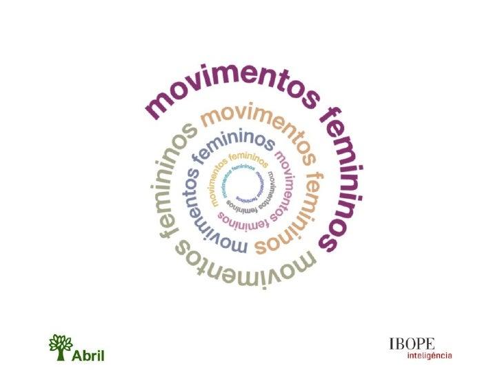 Movimentos Femininos