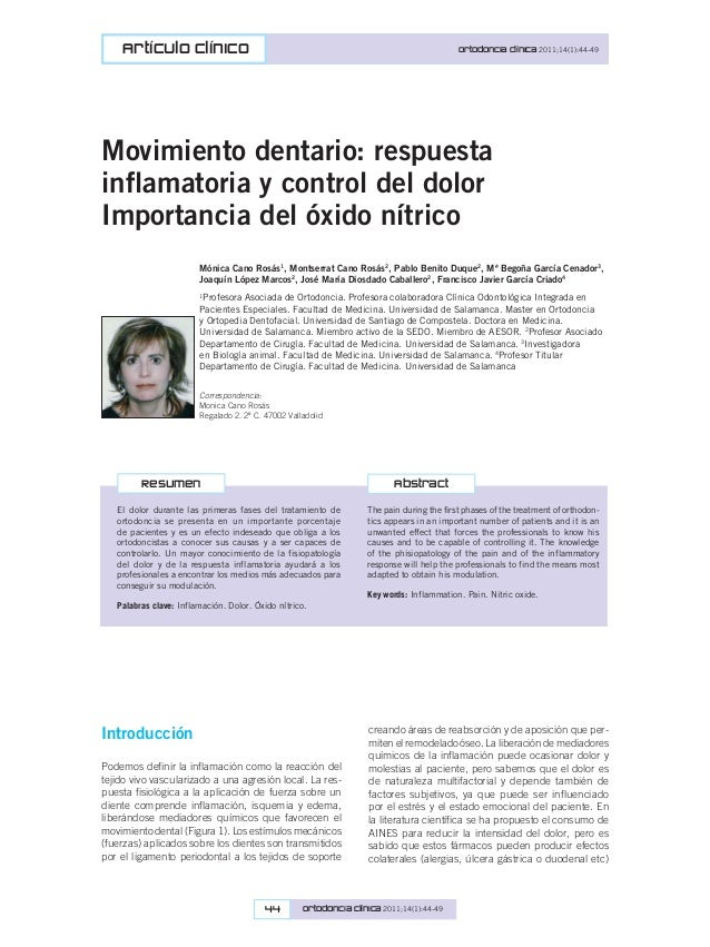 Movimiento dentario