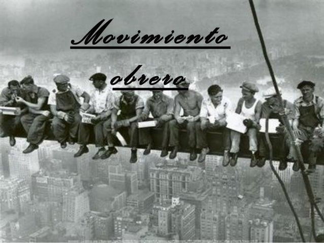 Movimiento obrero