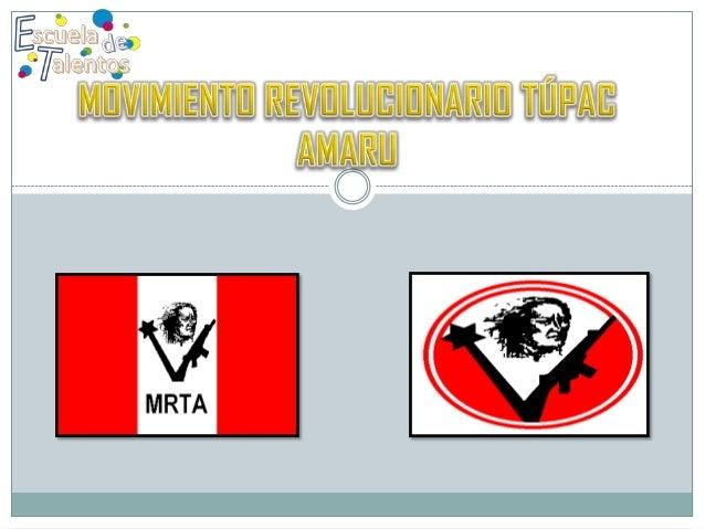 1. 2. 3.  • Fue una organización terrorista peruana , fundada en 1984. • Inspirada en las guerrillas izquierdistas de otro...