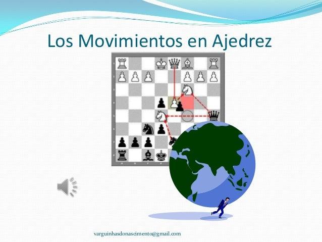 Movimientos en ajedrez ilustrado