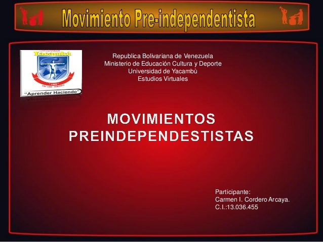 Republica Bolivariana de Venezuela Ministerio de Educación Cultura y Deporte Universidad de Yacambù Estudios Virtuales Par...