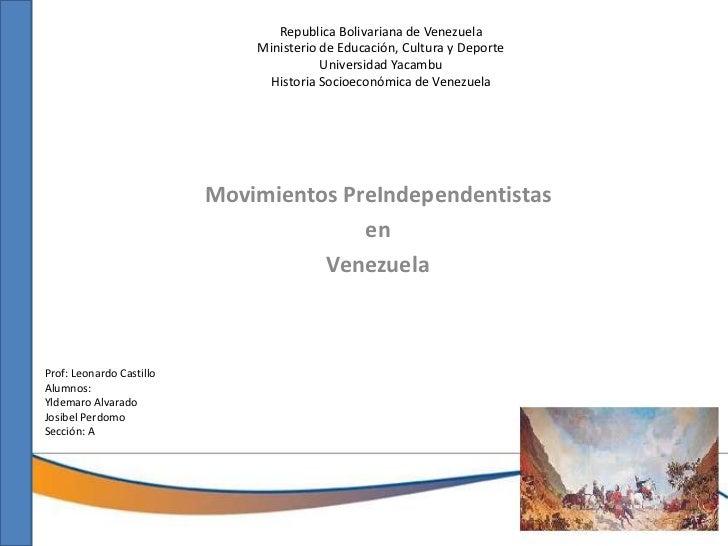 Republica Bolivariana de Venezuela                              Ministerio de Educación, Cultura y Deporte                ...