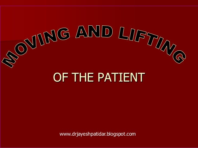 OF THE PATIENTwww.drjayeshpatidar.blogspot.com