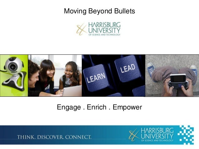 Moving beyond bullets