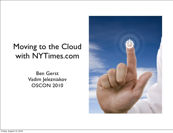 Moving to the Cloud with NYTimes.com