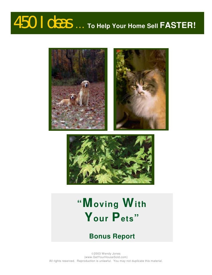 Moving With Pets-Edina Relocation