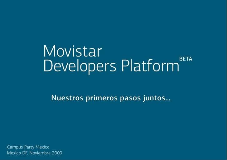 M Ovistar Developers Platform Jose Valles