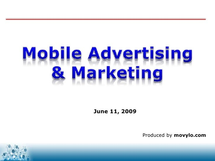 Mobile advertising & marketing