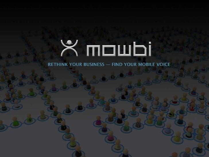 Mowbi Mobile Commerce