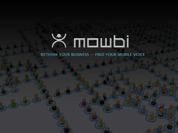 Mowbi Mobile Commerce