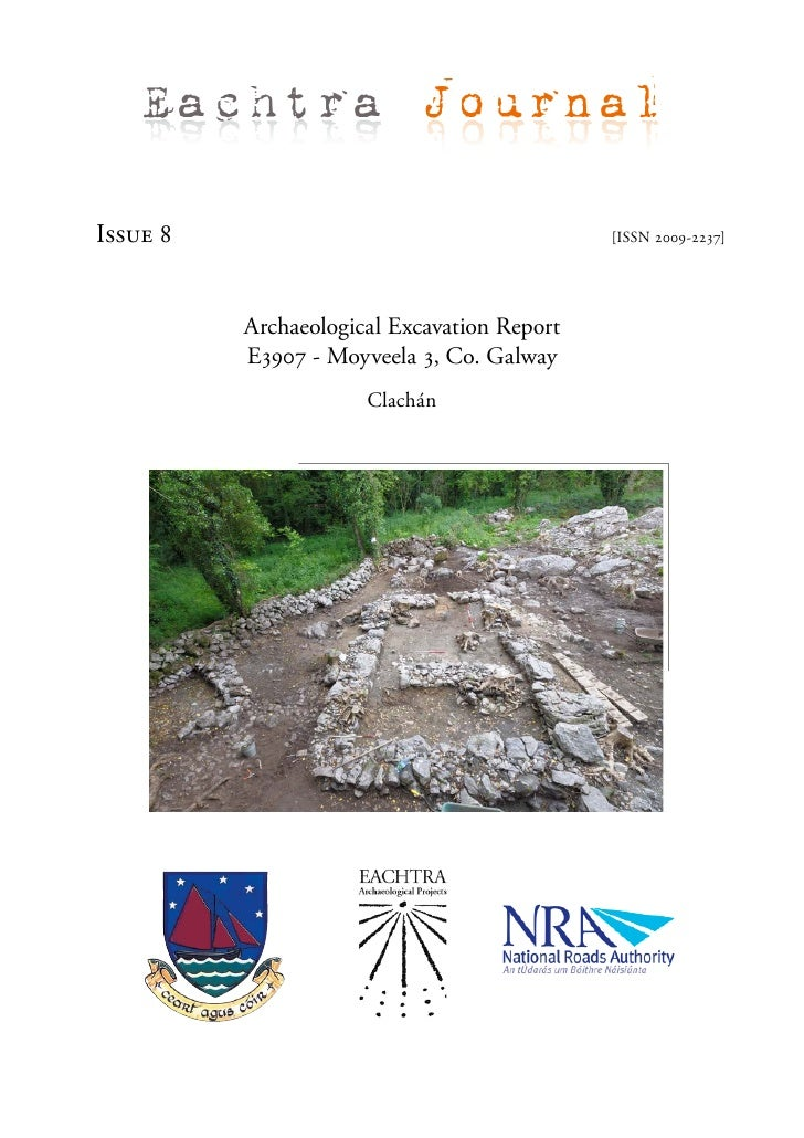 Archaeological Report - Moyveela 3, Co. Galway (Ireland)