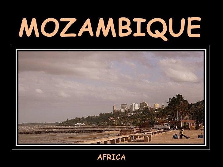 MOZAMBIQUE AFRICA