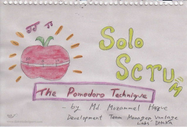 Pomodoro - your personal Scrum