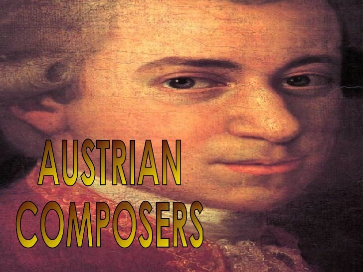 AUSTRIAN COMPOSERS