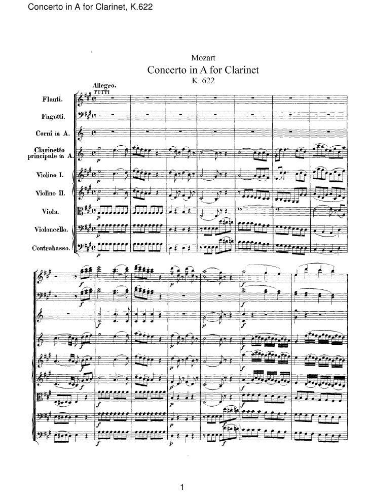 Mozart;concierto clarinete;partitura .orquesta