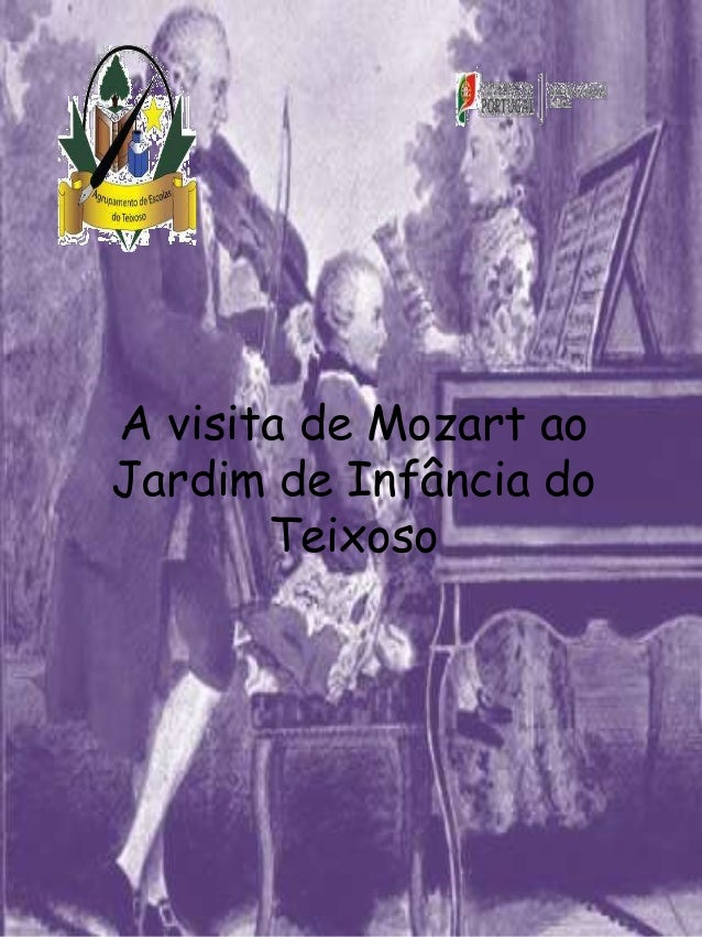 A visita de Mozart ao Jardim de Infância do Teixoso