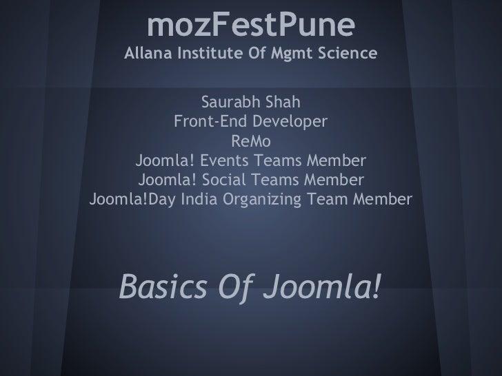 mozFestPune    Allana Institute Of Mgmt Science              Saurabh Shah          Front-End Developer                  Re...