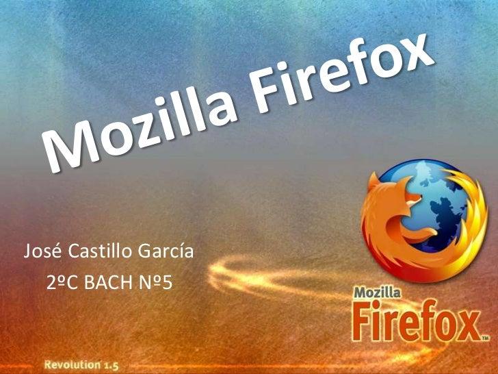 José Castillo García  2ºC BACH Nº5