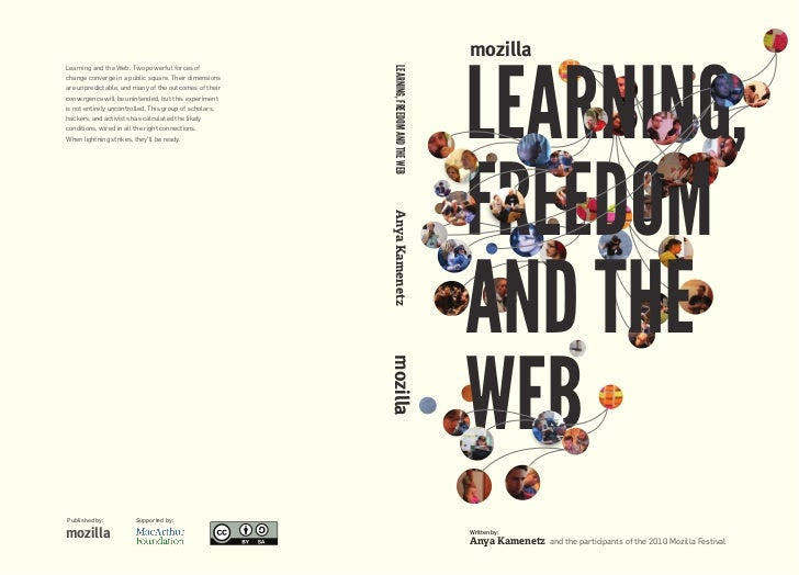 Mozilla learning freedom and the web