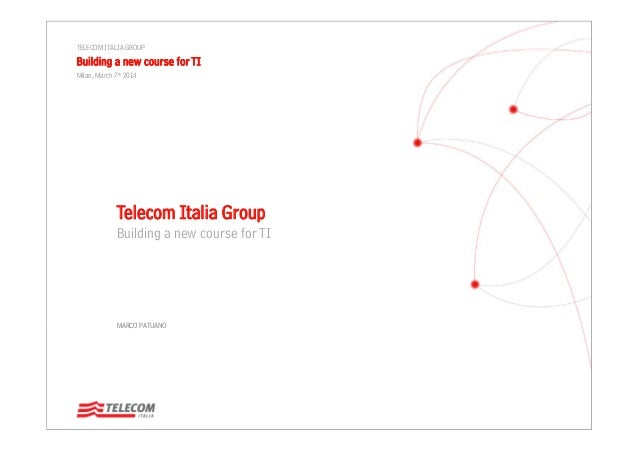 Building a New Course for TI – Marco Patuano
