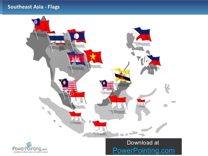 Southeast Asian Flag Southeast Asia Flags
