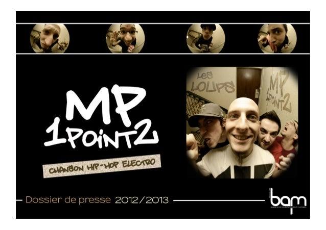 Mp1point2  - Dossier de presse