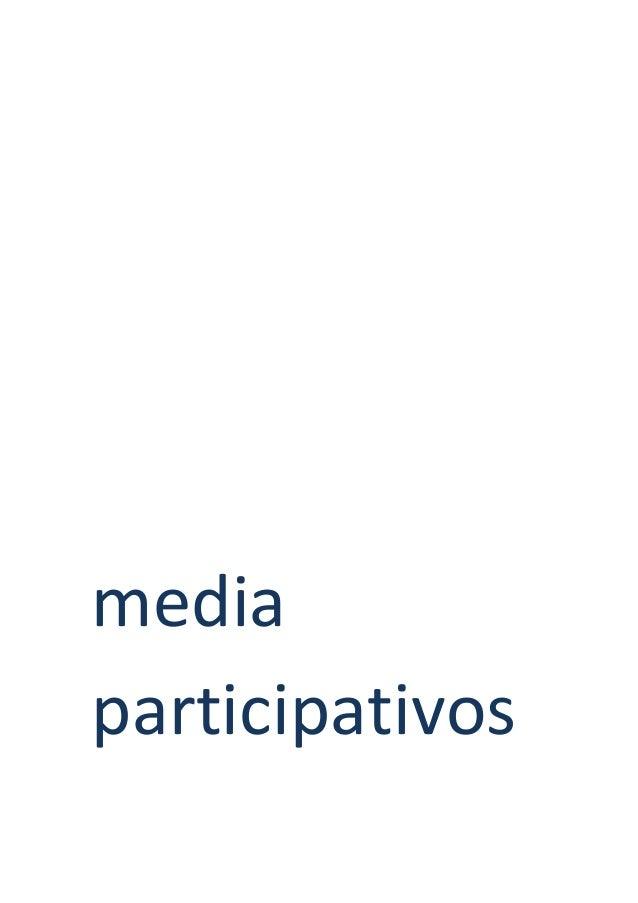 media participativos