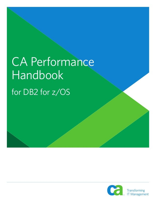 CA Performance Handbook for DB2 for z/OS