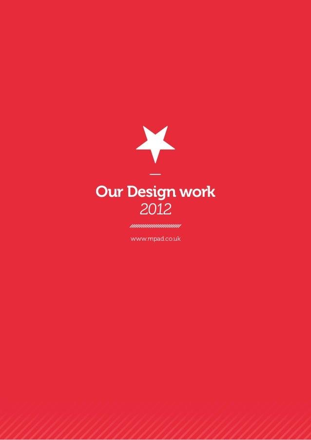 MPAD design portfolio