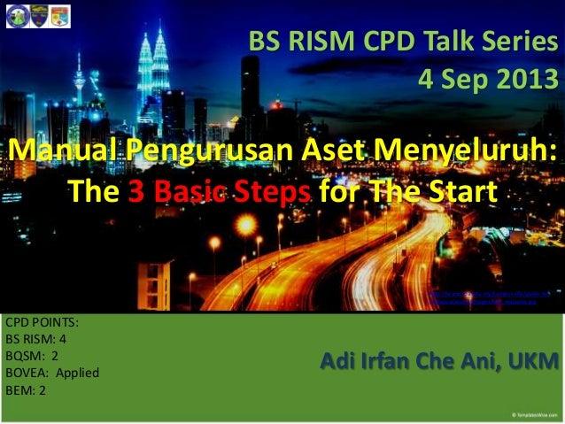 Mpam 3 basic steps