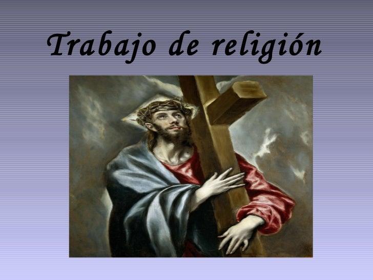 Trabajo de religión