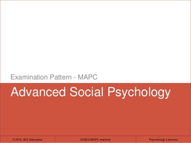 Social psychology paper