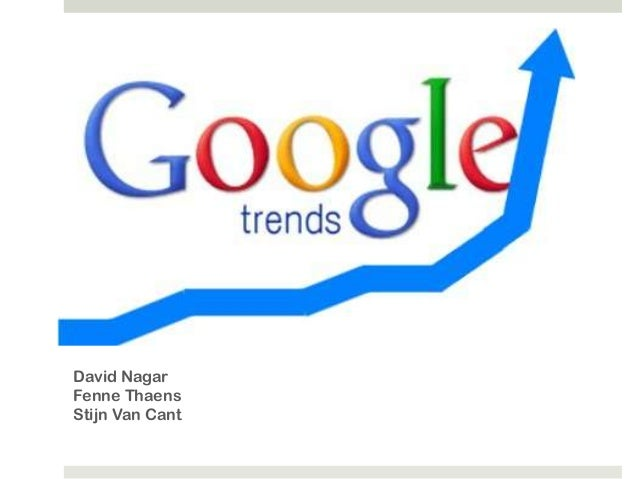 Google Trends, een introductie