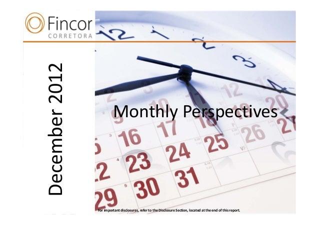 December 2012                         Monthly Perspectives      n                Forimportantdisclosures,refertotheD...