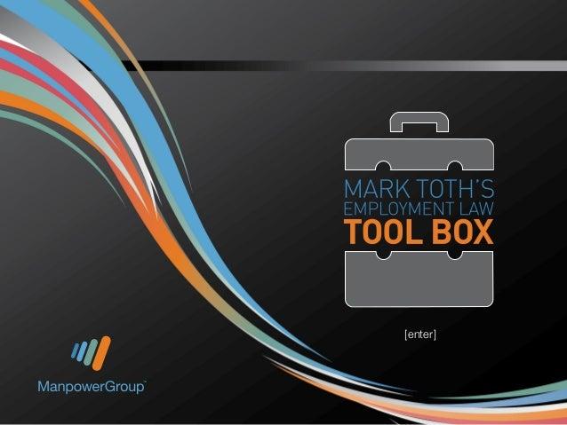 Employment Law Tool Box