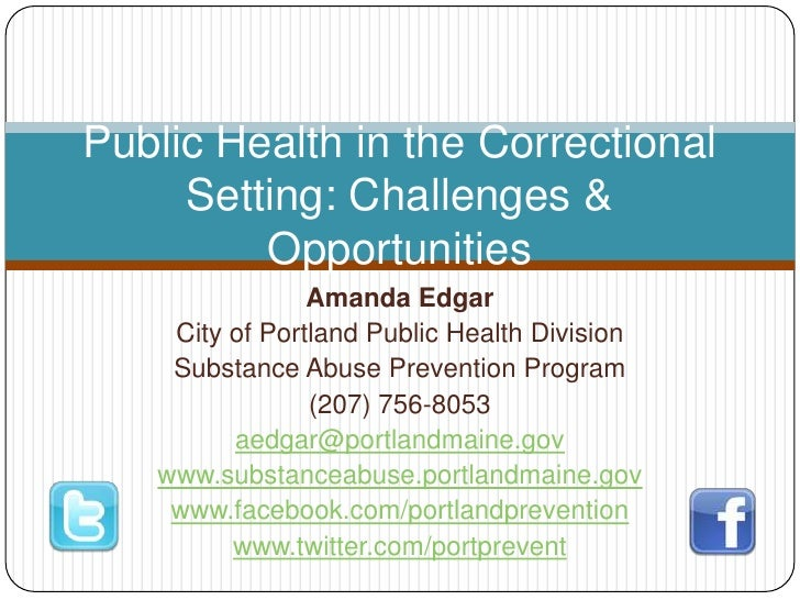 Amanda Edgar<br />City of Portland Public Health Division<br />Substance Abuse Prevention Program<br />(207) 756-8053<br /...