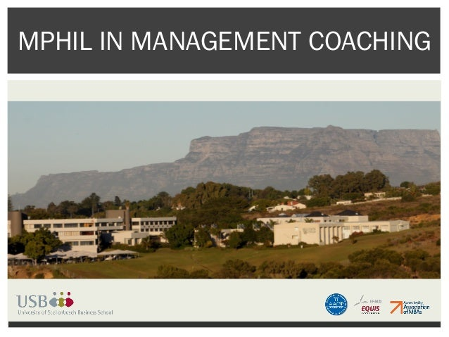 MPHIL IN MANAGEMENT COACHING