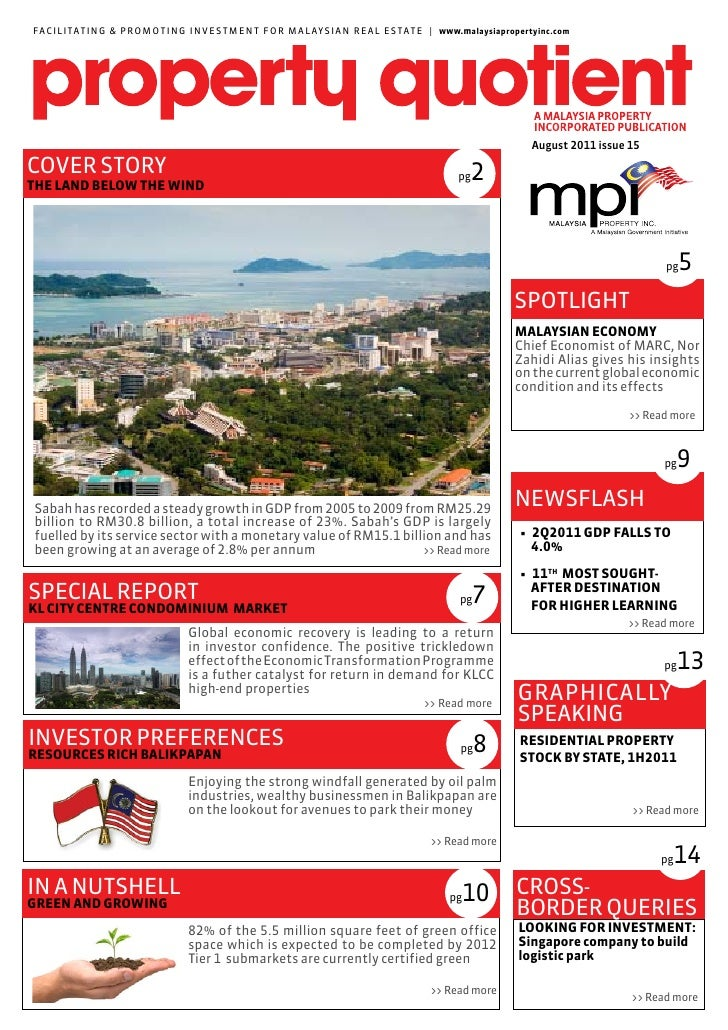 MPI Market Report – August 2011